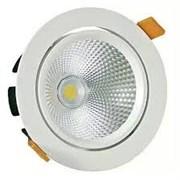 FL-LED DLB 20W 4200K D=180мм h=102мм d=165мм 20Вт 1800Лм (JS006) (встраиваемый поворотный круглый)