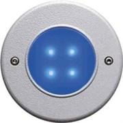47005-72 AQUALED 4-BG SW/ALU 0.5W 10V встройка синий 4xLED гранит d88x83 -свет-к