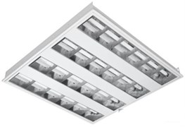 OSRAM T5 AREA 4X14 4000K - в комп с лампами, растр встройка ЭПРА