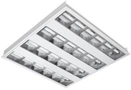 T5 AREA 4X14 3000K - в комп с лампами, растр встройка ЭПРА