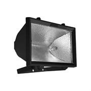 Прожектор галогенный FL-H 1500 IP54 черный (S008)  (ИО 04-1500)