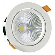 FL-LED DLC 30W 2700K D187xd172x154 30W 2600Lm встраиваемый поворотный круглый