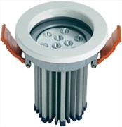 LDV DOWNLIGHT M WT 830 L36 13.5W 220-240V 3000K 680lm 50000ч  I103xd80 Белый