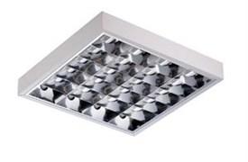 ЛПО 418 K ECP накладной, 620х405 зеркальный растр ЭПРА
