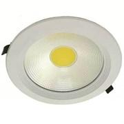 FL-LED DLA 30W 4200K D225xd205x65 30W 2600Lm встраиваемый круглый