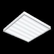 """Светодиодный светильник """"ВАРТОН"""" офисный накладной 595*595*50мм 54 ВТ 4000К с функцией аварийного освещения"""
