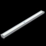 """Светодиодный светильник """"ВАРТОН"""" Айрон промышленный для агрессивных сред1215*105*61 мм класс защиты IP67 с рассеивателем колотый лед 54 ВТ 4000К"""