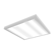 """Светодиодный светильник """"ВАРТОН"""" медицинский встраиваемый 595*595*55мм с защитным силикатным стеклом 36 ВТ 4000К класс защиты IP54 с функцией аварийного освещения"""