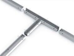 Соединитель Т-образный с набором креплений для светильников серии G-Лайн 692*586*80 54Вт 4000К