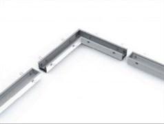 Соединитель Т-образный с набором креплений для светильников серии G-Лайн 692*586*80 36Вт 6500К