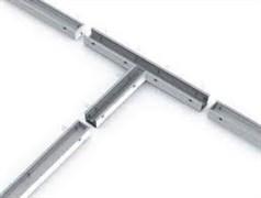 Соединитель Т-образный с набором креплений для светильников серии G-Лайн 692*586*80 36Вт 4000К