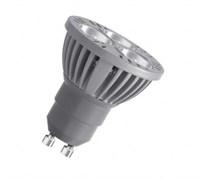 80332  3W 100-240V PAR16 YE GU10 100-240V  желтая - светодиодная лампа