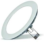 FL-LED  PANEL-R15 6400K D=192мм h=20мм d=180мм 15Вт 1350Лм (светильник встр. круглый)