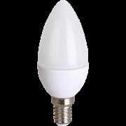 Ecola candle LED Premium 8,0W  220V E14 4000K свеча (композит) 100x37
