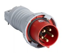 Вилка кабельная  63А 3Р+N+E IР67 переносная 415В  CEWE
