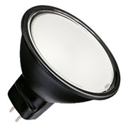 BLV      Reflekto Fr/Black    50W  40°  12V  GU5.3  3500h  черный / матовая - лампа