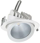 SL-LED DL-C 30W 3000K 30гр D=187мм h=154мм d=172мм 30Вт 2950Лм (аналог JS014) (встраиваемый поворотный круглый)