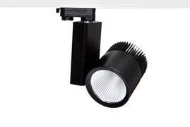 TL-LED IGLIO CRI=83 40W 38гр 4200К 4000Лм Черный - светодиодный трековый светильник