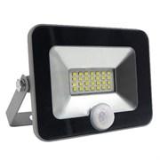 FL-LED Light-PAD SENSOR 10W Black  4200К   850Лм  10Вт  AC220-240В 140x169x28мм 430г - С датчиком