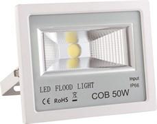 FL-STR FIRE PRO 50W 230V 4200K 40*70гр IP65 5400Лм PF≥0.9 белый -  уличный светодиодный светильник