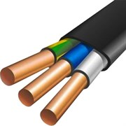 ВВГнг-LS 3x2,5 черный ГОСТ Гамма кабель   - провод