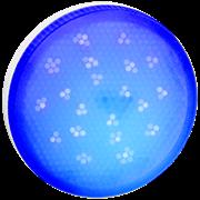 Ecola GX53   LED color  8,0W Tablet 220V Blue Синий матовое стекло (композит) 28x74