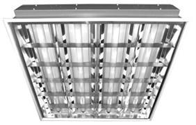 Светильник ЛВО 4х18-CSVT/GR(грильято) под LED лампу