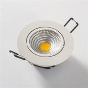 FL-LED Consta B 7W White 4200K    белый 7Вт 560Лм (светильник встр. пов.)(S410) D=85мм d=68мм h=45мм