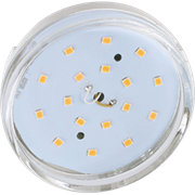 Лампа светодиодная Ecola GX53   LED  8,5W Tablet 220V 2800K прозрачное стекло (композит) 27x75