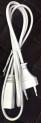 LINE-SME 1,2м кабель для светодиодного светильника T5 с вилкой EU без земли