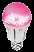LED-A60-9W/SP/E27/CL ALM01WH - Uniel лампа для растений
