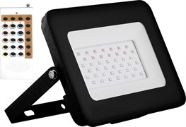 Светодиодный прожектор LL-612 IP65 30W RGB Feron
