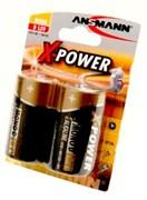 ANSMANN X-POWER 5015633 LR20 BL2 - Батарейка