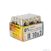 ANSMANN X-POWER 5015671 LR03 SR2, в упак 20 шт - Батарейка