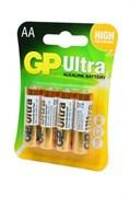 GP Ultra GP15AU-2UE4 LR6 BL4 - Батарейка