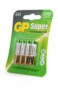 GP Super 24A-2CR4 LR03 BL4 - Батарейка