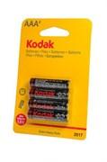 Kodak Extra Heavy Duty R03 BL4 - Батарейка