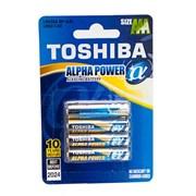 TOSHIBA ALPHA POWER LR6GAFI BP-4S LR6 BL4 - Батарейка