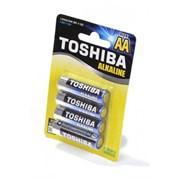 TOSHIBA Alkaline LR6GCNN BP-4 SS LR6 BL4 - Батарейка