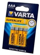 VARTA SUPERLIFE Micro 2003 R03P BL4 - Батарейка