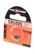 ANSMANN 1516-0005 CR1025 BL1 - Батарейка