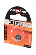 ANSMANN 1516-0007 CR1216 BL1 NEW - Батарейка