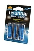 HYUNDAI POWER ALKALINE LR6 BL4 - Батарейка