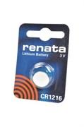 RENATA CR1216 BL1 - Батарейка