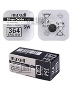 MAXELL SR621SW 364 (RUS), в упак 10 шт - Батарейка