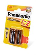Panasonic Alkaline Power LR03APB/6BP 4+2F LR03 4+2шт BL6 - Батарейка