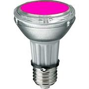 BLV    HIT-PAR 20 35W  mg E27 35W 95V 0,5 A  3700cd  6000h   u360  маджента -  цветная лампа