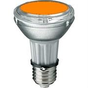 BLV    HIT-PAR 20 35W  or  E27 35W 95V 0,5 A   8500cd  6000h   u360  оранжевая -  цветная лампа