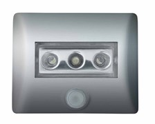 80193 NIGHTLUX - LED Серебро ночник с фотоэлементом на магните