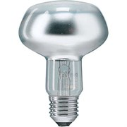 R80   60W 230V 25° E27  PHILIPS  (зеркальная D80mm) - лампа